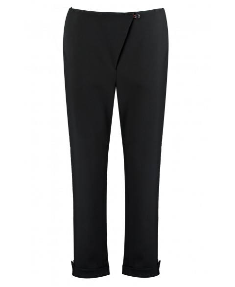 Organic Wool Cropped Trousers