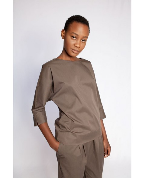 Blouse Amani Safari Brown