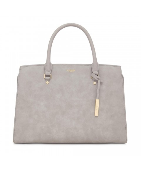 Aricia Grey Vegan Laptop Bag