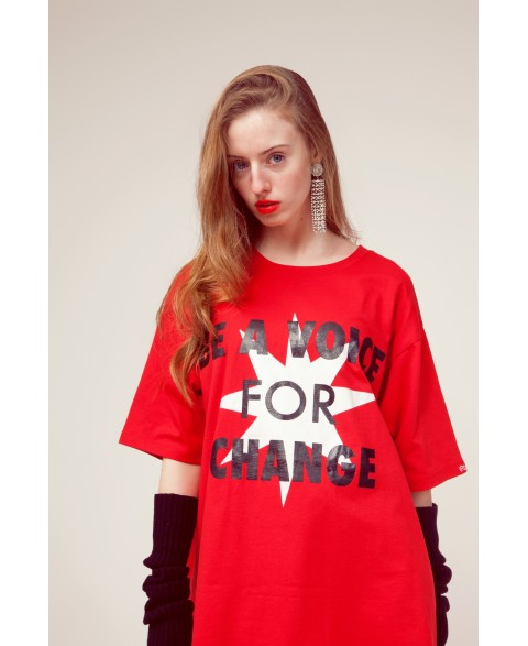 BE A VOICE MINIDRESS/TEE