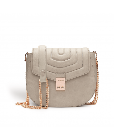 Courtney Grey Quilt Vegan Cross Body Bag