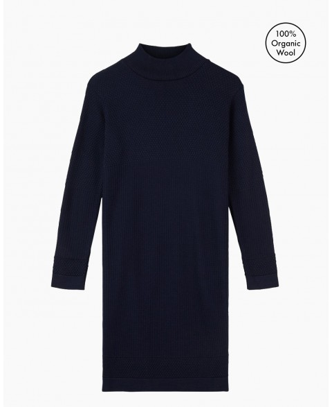 Fiord Seed Dress - Navy