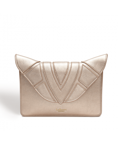 Monarch Rose Gold Vegan Cross Body Bag
