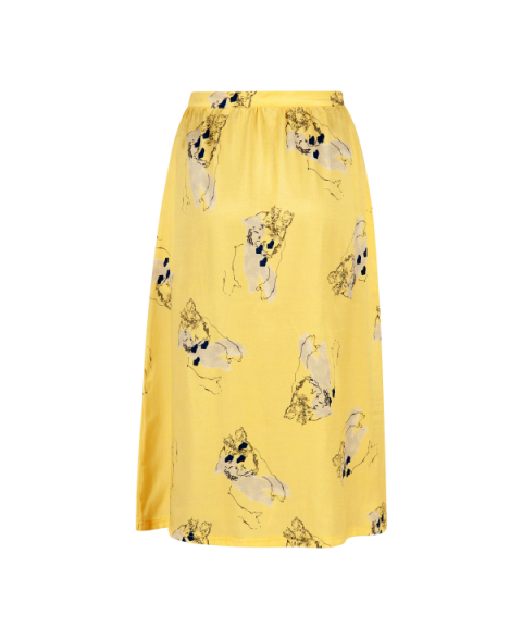 Express Printed Skirt