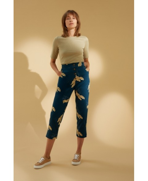 Reflect Printed Trouser