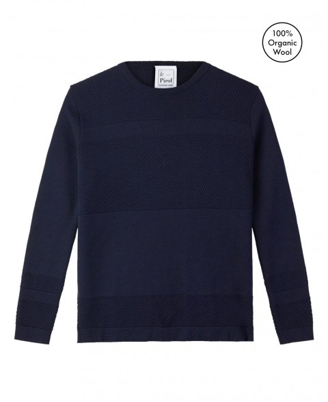 Wex Sailor Sweater - Navy