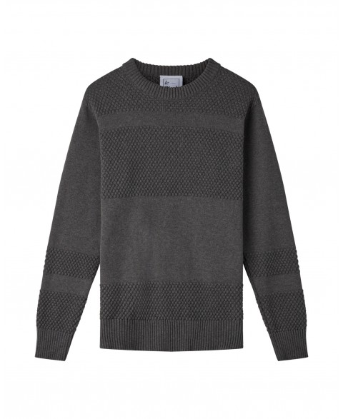Anker Cotton Jumper - Grey