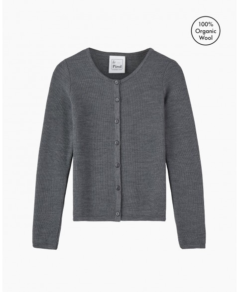 Soft Cloud Cardigan - Grey