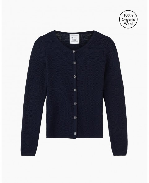 Soft Cloud Cardigan - Navy