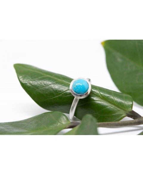 Silverring with Turquoise from Arizona